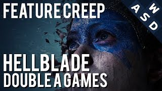 Why Hellblade Senua's Sacrifice Is A Good Role Model For Double A Development | Feature Creep