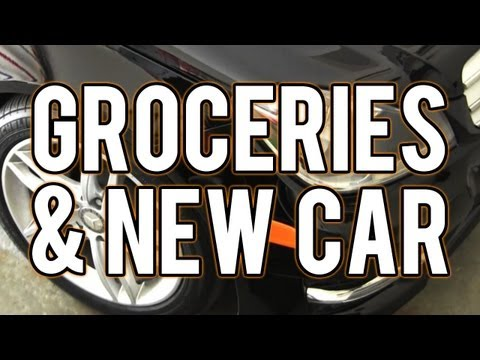 Vlog #1:  Groceries, New Car, & Dogs