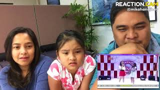 Family reacts to Charice and So Hyang sings When you believe