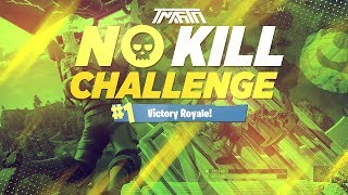 NO KILL CHALLENGE VICTORY ROYALE! - Fortnite Battle Royale