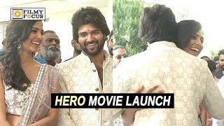 Vijay Deverakonda New Movie Launch | Hero Movie Launch | Malavika Mohanan