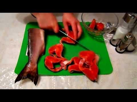 GVK : Запекаем рыбу в духовке. Рыба с картофелем в духовке. Красная рыба в духовке с овощами.