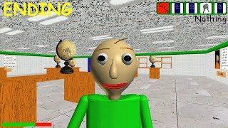 ENDING - Baldi's Basics - Full Game Early Demo (Real game) Part4