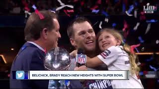Bill Belichick, Tom Brady set records but do so with family closer than ever