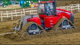 RC Tractor PULLING ACTION! Quadtrac vs  Quadtrac!