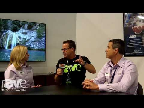 InfoComm 2016: Gary Kayye Talks With Sam Taylor and Melody Craigmyle From Almo Pro AV