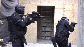 CQB2 Tactical Paintball HD Video