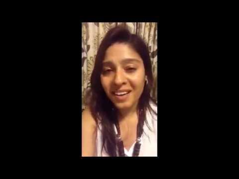 Kamli Kamli - Sunidhi Chauhan Singing Without Music