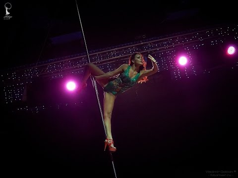 "Anastasiya Romantsova, Exotic Pole Dance, 4th Place ""Pole Emotions - 2014"" Indigo Dance Studio 2014"