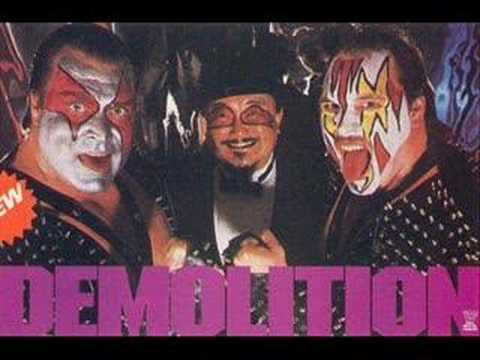 Demolition is listed (or ranked) 39 on the list The Best Wrestling Entrance Songs