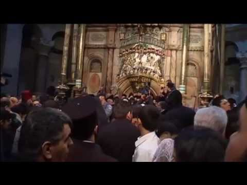 Easter's Holy Fire: Greek Orthodox Patriarch leads Holy Fire ceremony in Jerusalem