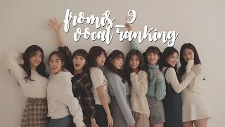 download lagu My Fromis Vocal Ranking gratis