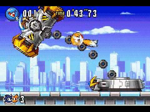 Sonic Advance 3 - Smashed by Eggman - User video