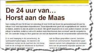 Horst aan de Maas Anders Infoclip