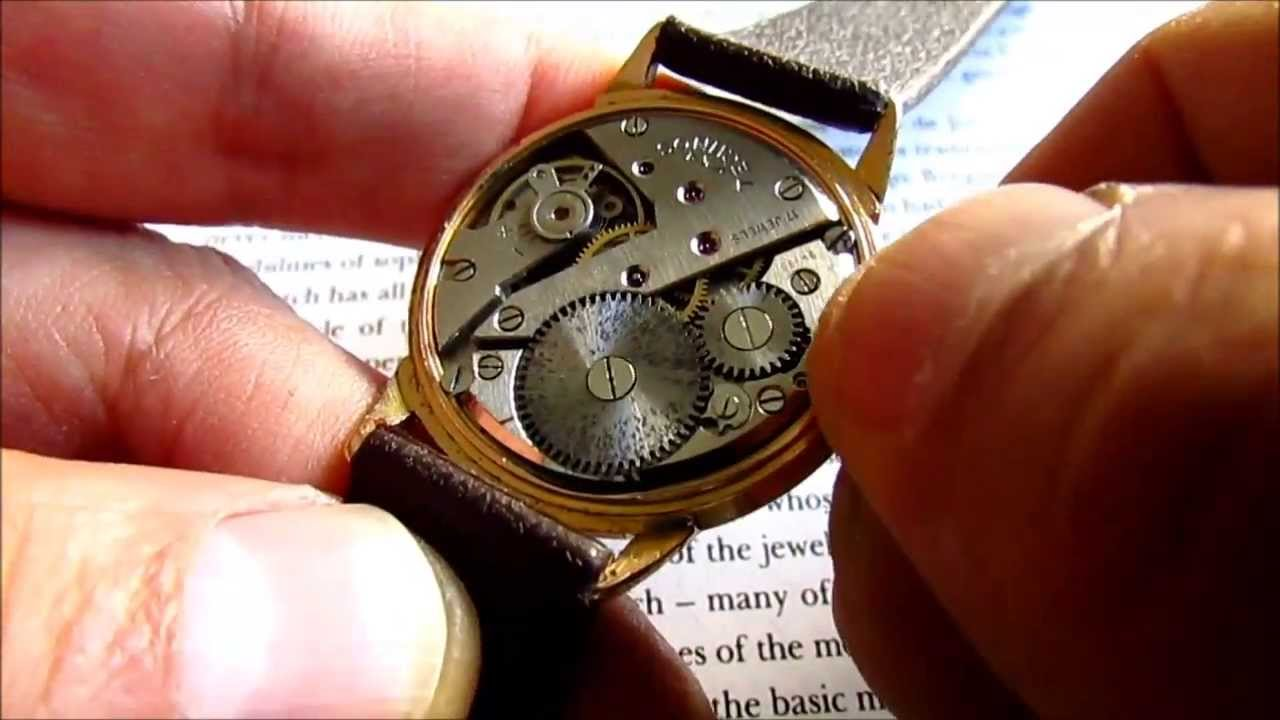 Technos 17 jewels vintage wrist watch 1950s youtube for Technos watches