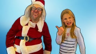 Amelia is visited by Santa Claus, twice! Cool Christmas adventure with Christmas trees.