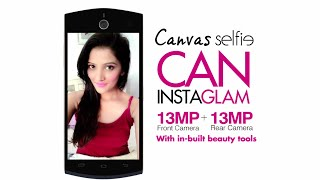 My Perfect Selfie with Micromax Canvas Selfie