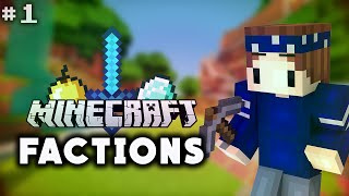 MINECRAFT FACTIONS Ep.1 /w Tebby -