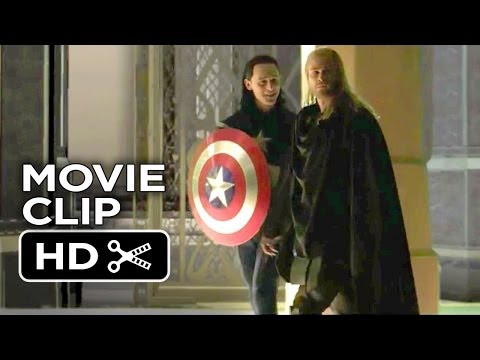 Thor: The Dark World Bonus CLIP - Loki Plays Captain America (2013) - Marvel Movie HD