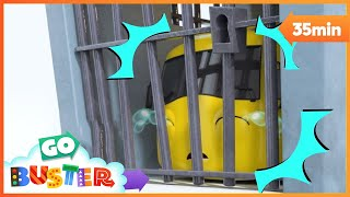 Buster Goes To JAIL!! | GoBuster Compilation | Nursery Rhymes | Kids Videos |  ABCs and 123s