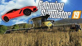 BAD FARMERS RACE CORVETTES & FARM SOYBEANS! - Farming Simulator 19 Multiplayer Mod Gameplay