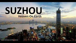 Suzhou, China - Aerial footage