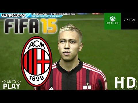 FIFA15 AC Milan Faces / Caras - FIFAALLSTARS.COM