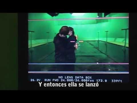 Detrás de cámaras de   El beso de Ron y Hermione/HP7 Parte 2