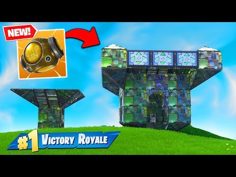 The *NEW* Port-A-Fortress BROKE FORTNITE!