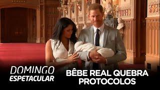 Bebê real chega quebrando uma série de protocolos