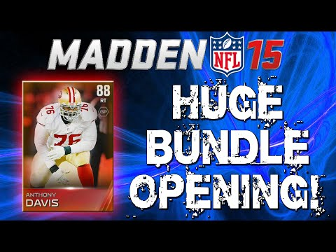 Madden 15 Ultimate Team - 54 Pro Pack Opening! ELITE + LEGEND Pulls! - MUT 15 Bundle Pack Opening