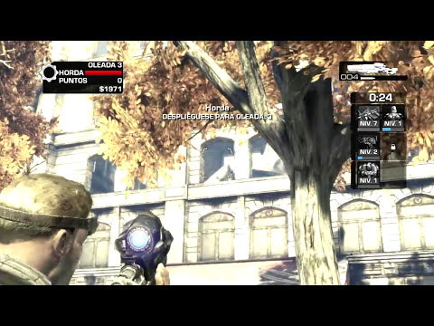 Gears of War 3 | Huevo de Pascua Raven Caido, Hacha de Hielo