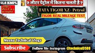 TATA TIGOR XZ+ Owner Real Life Mileage Test