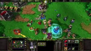 Good Game! Warcraft III 1v1 vs Lv.29 Human on Netease 魔兽争霸3 网易对战平台