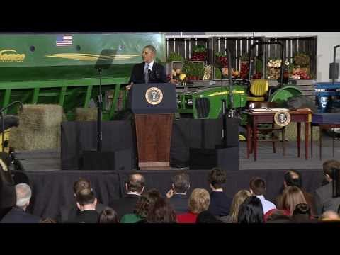 President Obama Full 2014 Farm Bill Speech