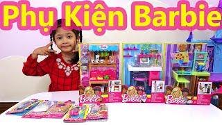 Phụ Kiện Búp Bê Barbie, Cửa Hàng Siêu Thị Của Barbie, Barbie Làm Họa Sĩ, Barbie Làm Nhà Khoa Học