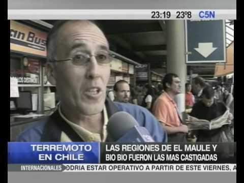 C5N TERREMOTO EN CHILE