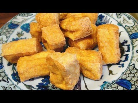 Fried Tofu Puffs How to Deep Fried Tofu Puffs