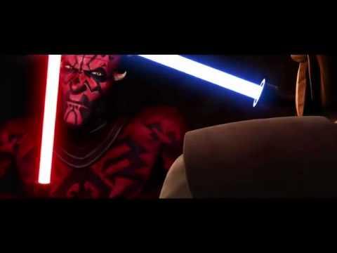Star Wars Obi Wan vs Darth Maul Darth Maul vs Obi-wan