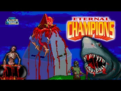 Eternal Champions Sega CD - All Overkills and Sudden Deaths