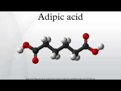 the varied uses of adipic acid in the world today Yield or selectivity for adipic acid could be achieved when the amount of the catalyst was increased to 15% (mol) it is worth.