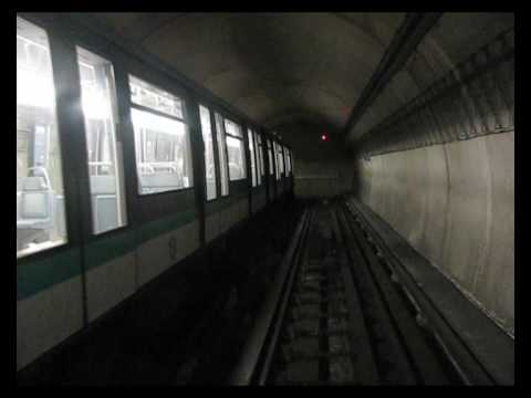 Going beyond last station on paris metro line 14