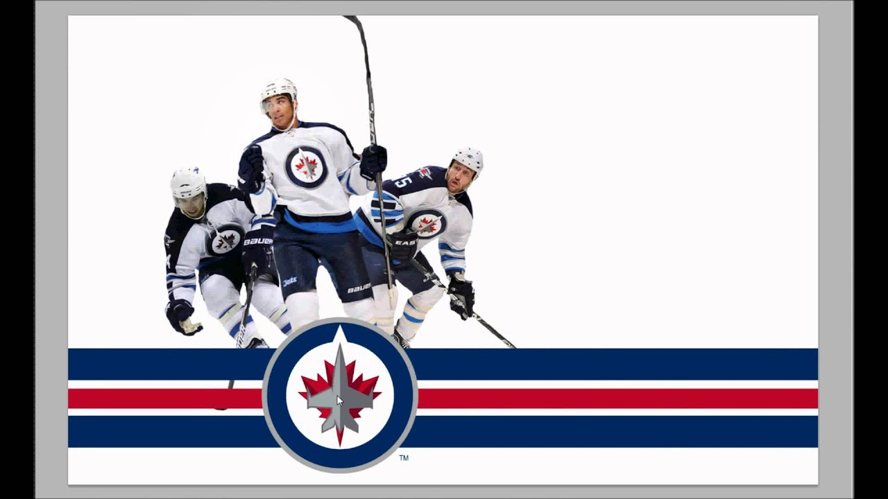 nhl winnipeg jets wallpaper Speedpaint Winnipeg Jets wallpaper YouTube