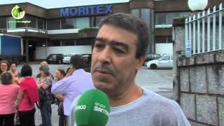 Trabalhadores da Moritex concentrados na empresa para impedir alegada retirada de património
