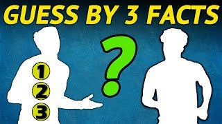 Can You Guess the Football Player by Three Facts? (New 2019 Football Quiz)