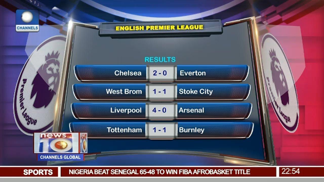 Liverpool Thrash Arsenal 4-0 In English Premier League Pt 4 | News@10 |