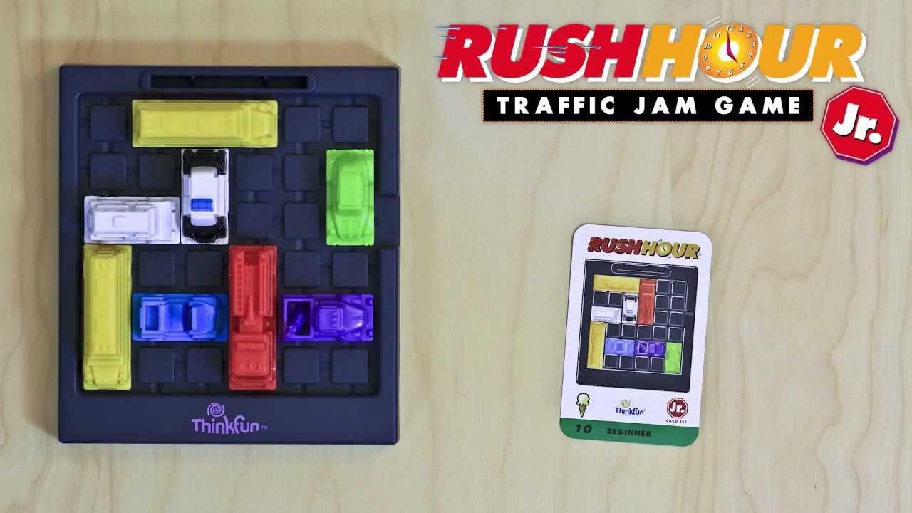 spiel rush hour junior