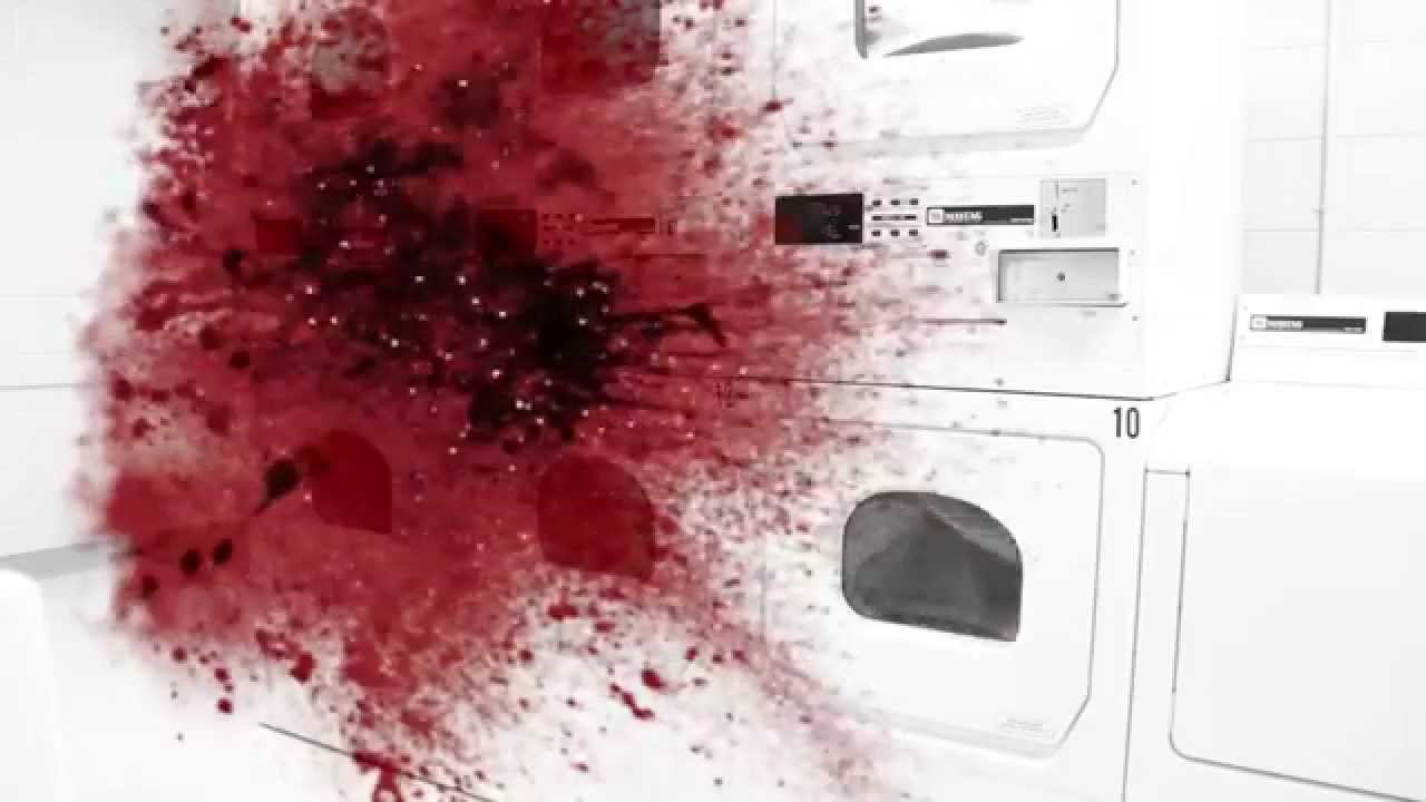 how to get rid of blood stains youtube