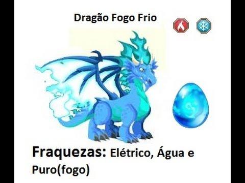 Dragon City Dragão Fogo Frio Como Ganhar o Dragao Fogo Frio