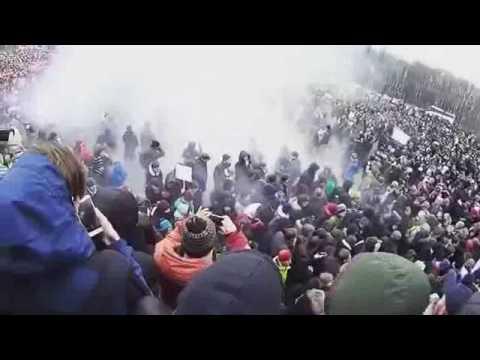 Путин - вор! Полиция отступает на Дворцовой. Санкт-Петербург 26.03.17